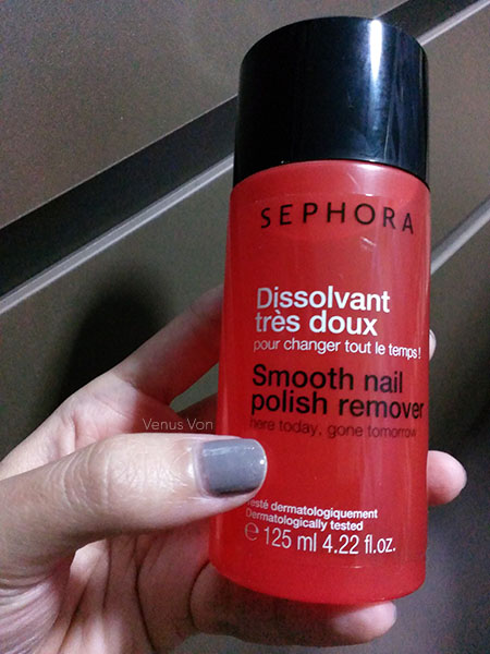 Sephora smooth nail polish remover